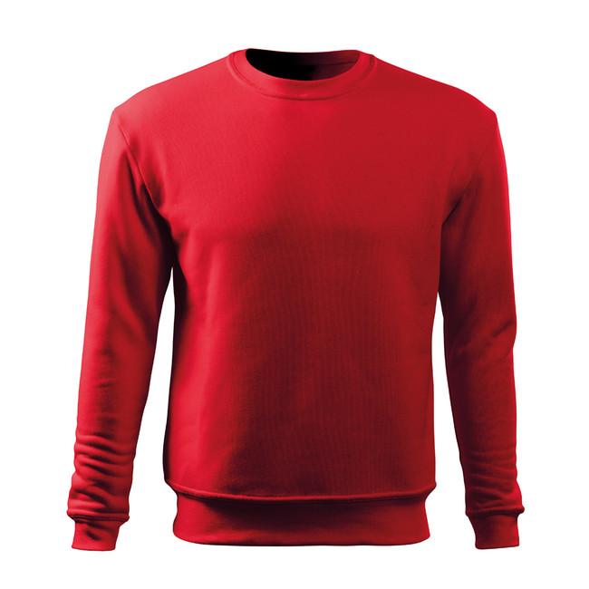 Malfini Essential pánská mikina, červená - S