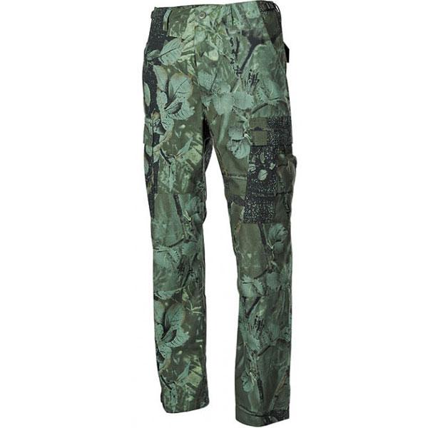 MFH BDU pánské kalhoty Rip-Stop Real tree hunter-grün - L