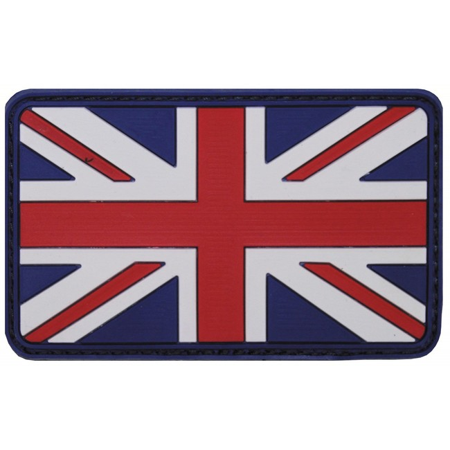 MFH nášivka 3D Velká Británie 8x5cm