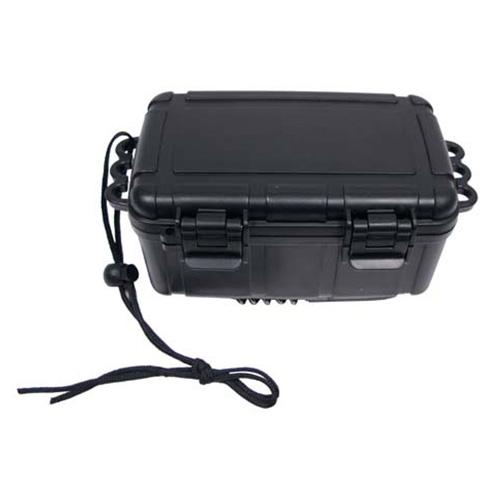 MFH plastový vodotěsný box černý 20 x 11,5 x 8,5 cm