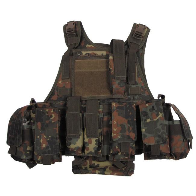 MFH Ranger Modular taktická vesta, flecktarn