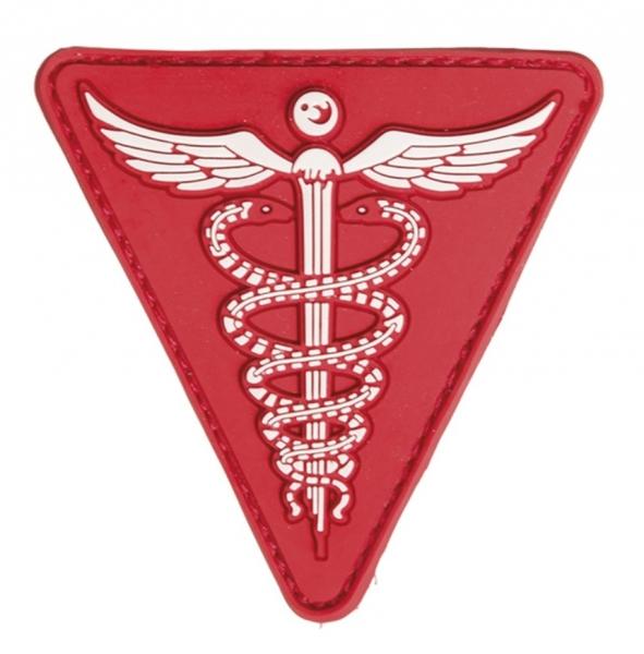 Mil-tec 3D nášivka Medical, červená