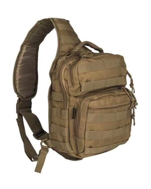 Mil-tec Assault small batoh jednopopruhový, coyote 10L