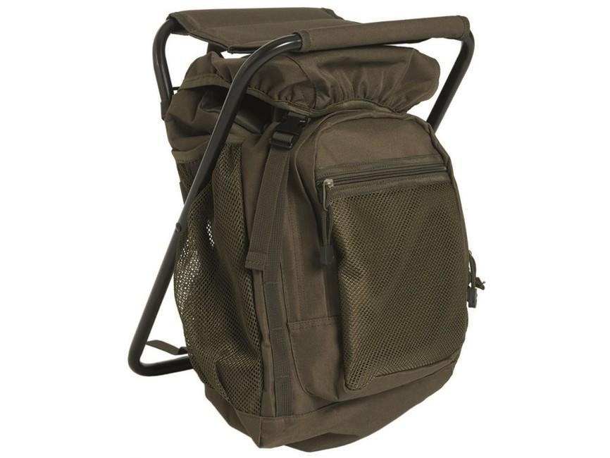 Mil-Tec batoh se židlí ,olivový 20l