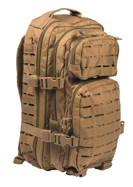 Mil-Tec batoh US Assault Small Laser Cut, coyote, 20L