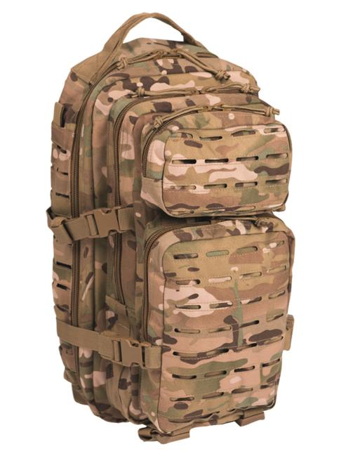 Mil-Tec batoh US Assault Small Laser Cut, multitarn, 20L