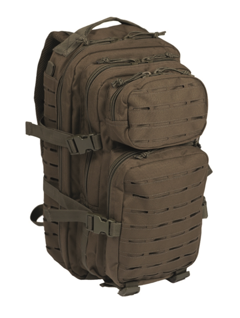 Mil-Tec batoh US Assault Small Laser Cut, olivový, 20L