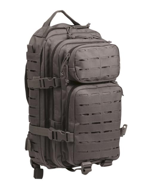 Mil-Tec batoh US Assault Small Laser Cut, šedý, 20L