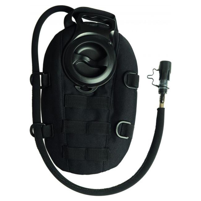 Mil-tec kapsa hydratační oval 1,5l, černá
