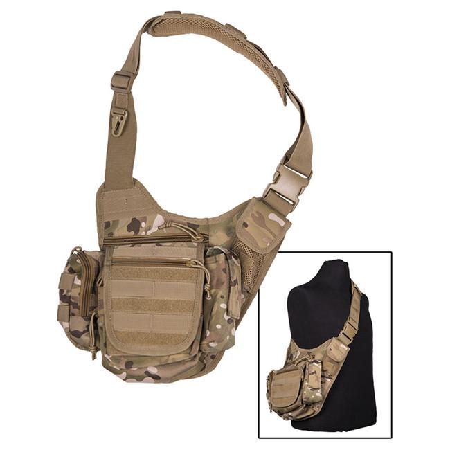 Mil-tec multifunkční Molle taška přes rameno, multitarn
