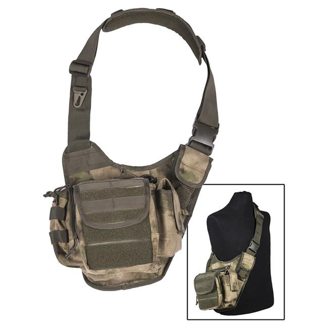 Mil-tec multifunkční Molle taška přes rameno, TACS FG