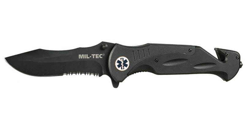 Mil-Tec otevírací nůž Medical 440/G10, 27,5 cm