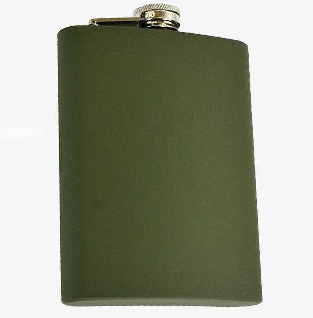 Levně Mil-Tec placatka olivová obsah 4oz./110 ml