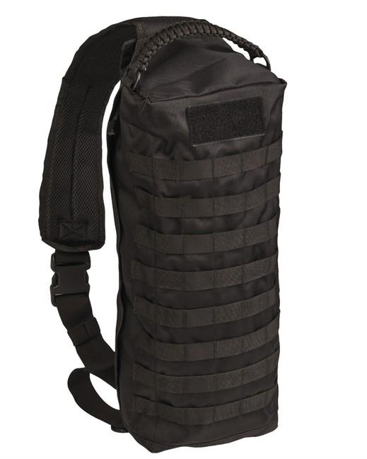 Mil-tec Tanker batoh jednopopruhový, černý 15L