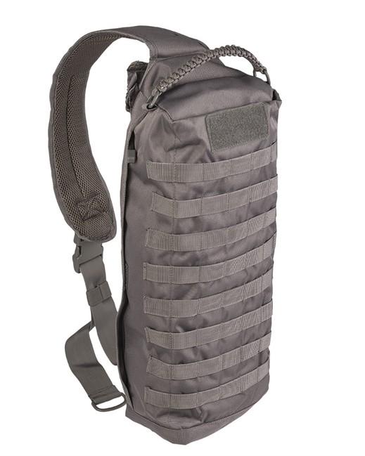 Mil-tec Tanker batoh jednopopruhový, šedý 15L