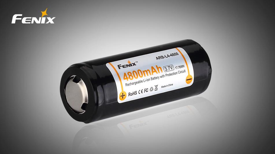 Nabíjecí baterie Fenix 26650 4800 mAh Li-ion