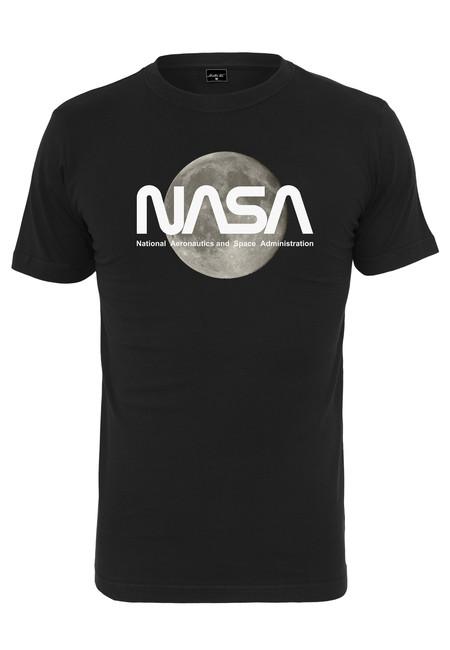 Levně NASA pánské tričko Moon, černé - XS