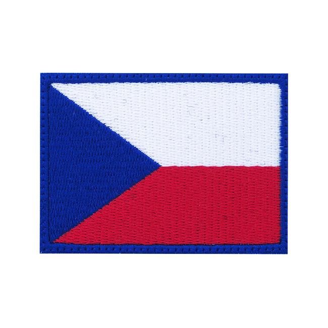 Nášivka Česká vlajka, 7x5cm