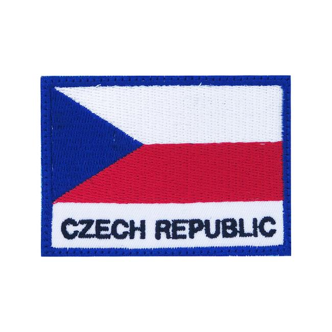 Nášivka Czech republic, 7x5cm
