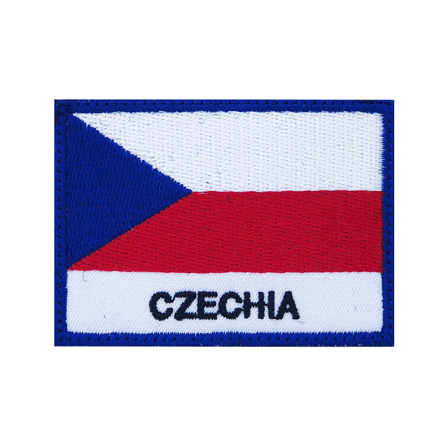 Nášivka Czechia vlajka, 7x5cm