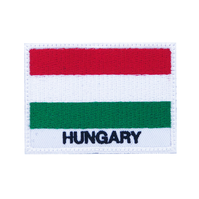Nášivka Hungary, 7x5cm