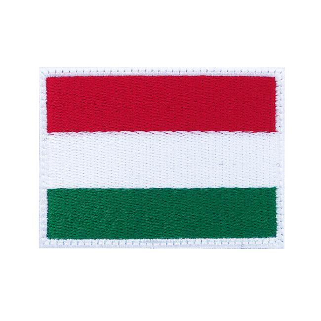 Nášivka Maďarská vlajka, 7x5cm