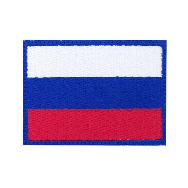 Nášivka Ruská vlajka, 7x5cm