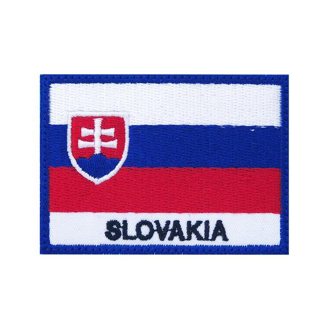 Nášivka Slovakia vlajka, 7x5cm