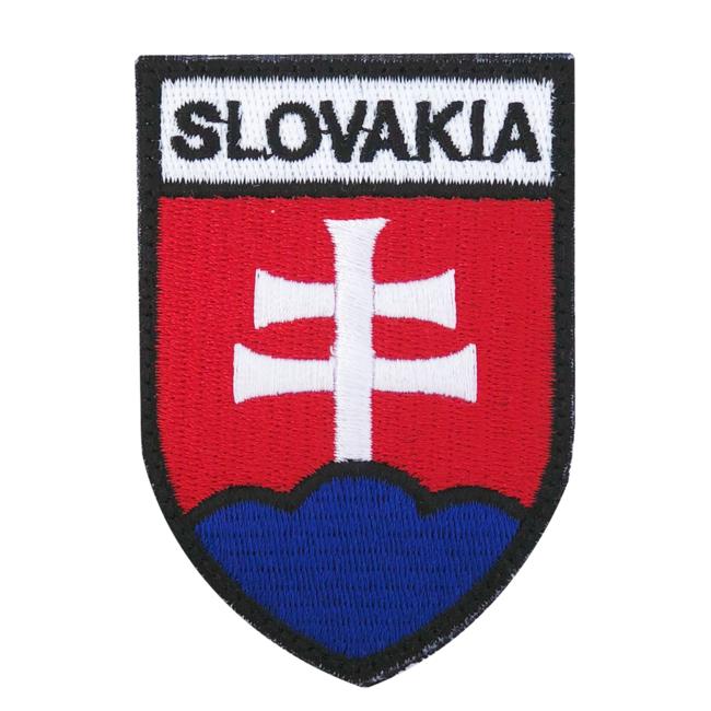 Nášivka Slovakia znak, 7x5cm