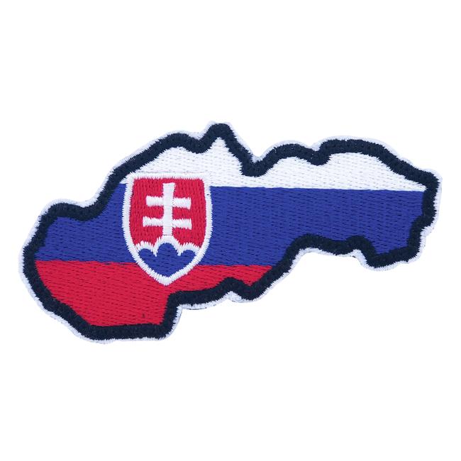 Nášivka Slovenská republika mapa, 9x5cm