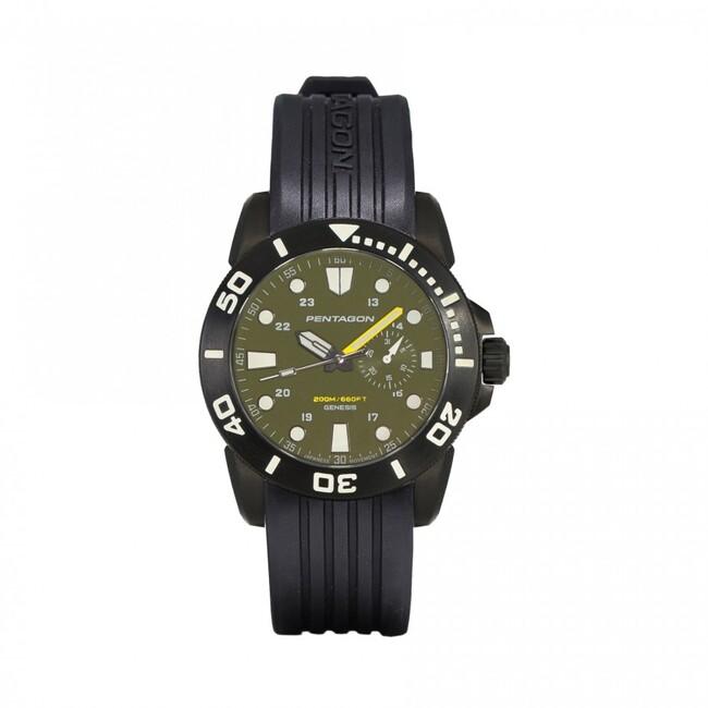 Pentagon hodinky GENESIS, černé