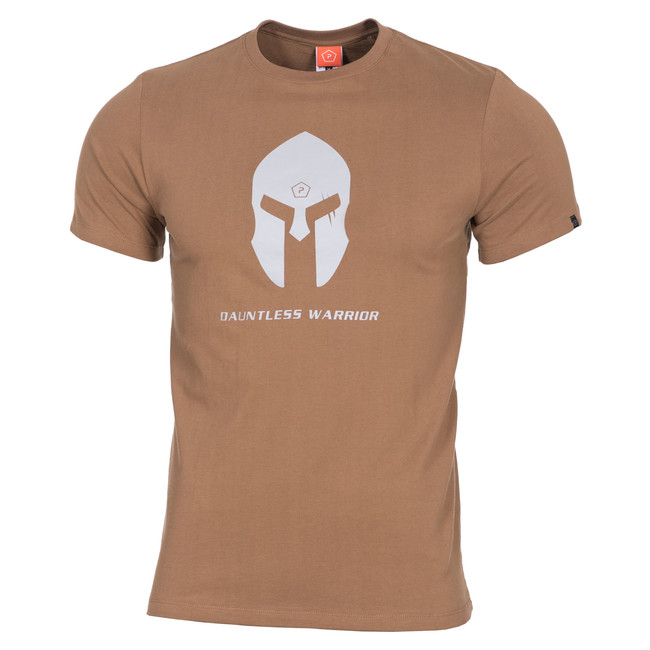 Levně Pentagon Spartan Helmet tričko, coyote - M