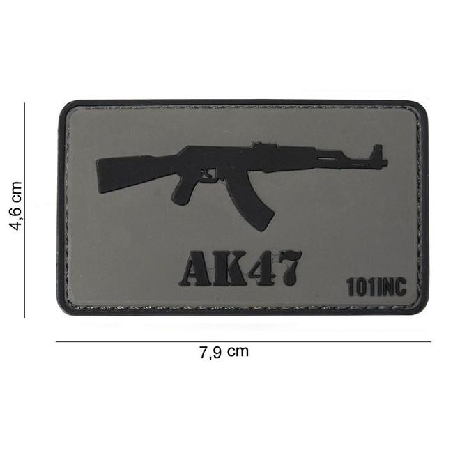 """M-Tramp PVC nášivka """"AK-47"""""""