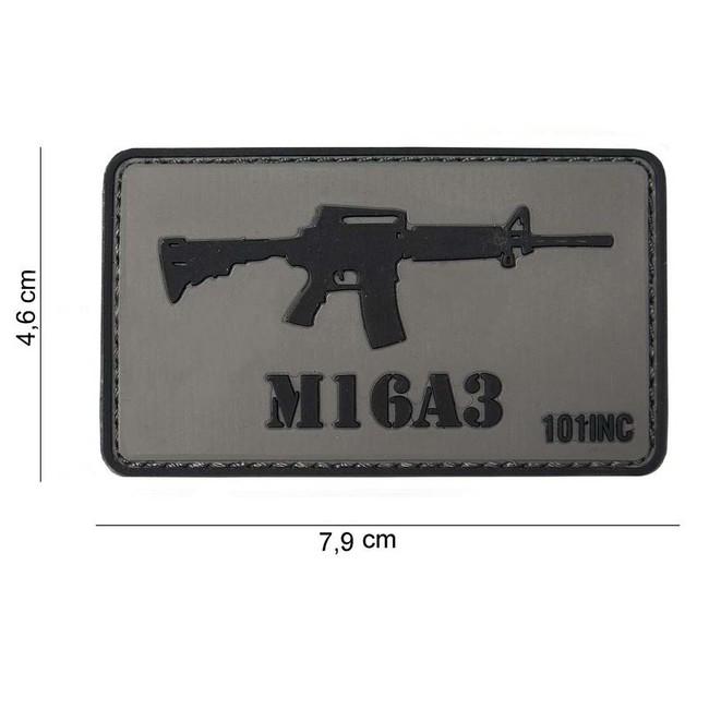 "M-Tramp PVC nášivka ""M16A3"""