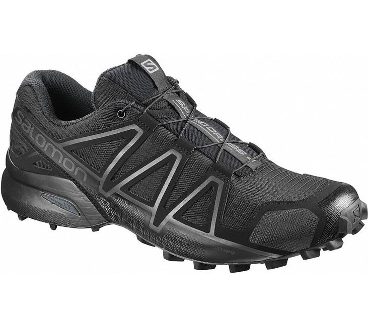 Salomon Speedcross 4 Wide Forces terénní běžecká obuv, černá - 7.5
