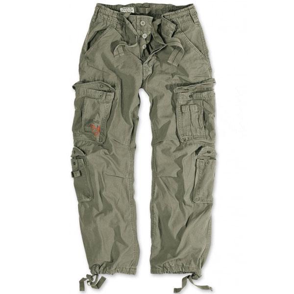 Surplus Vintage kalhoty, olivové - S
