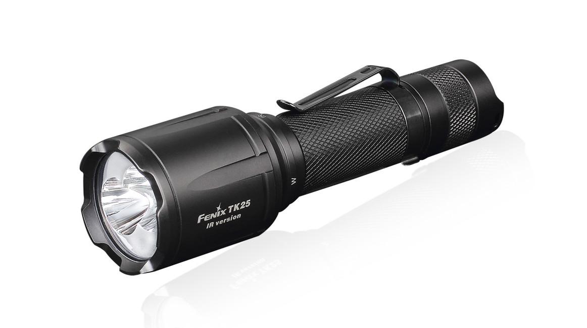 Taktická LED svítilna Fenix TK25 IR, 1000 lumenů
