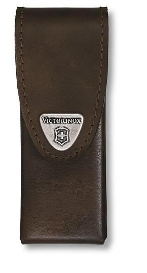 Victorinox kožené pouzdro pro SwissTool Spirit, hnědé
