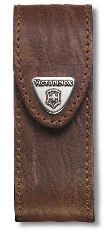 Victorinox pouzdro kožené - standardní hnědé do 91mm