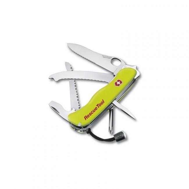 Victorinox kapesní nůž reflexní žlutý 111mm Rescue Tool s pouzdrem