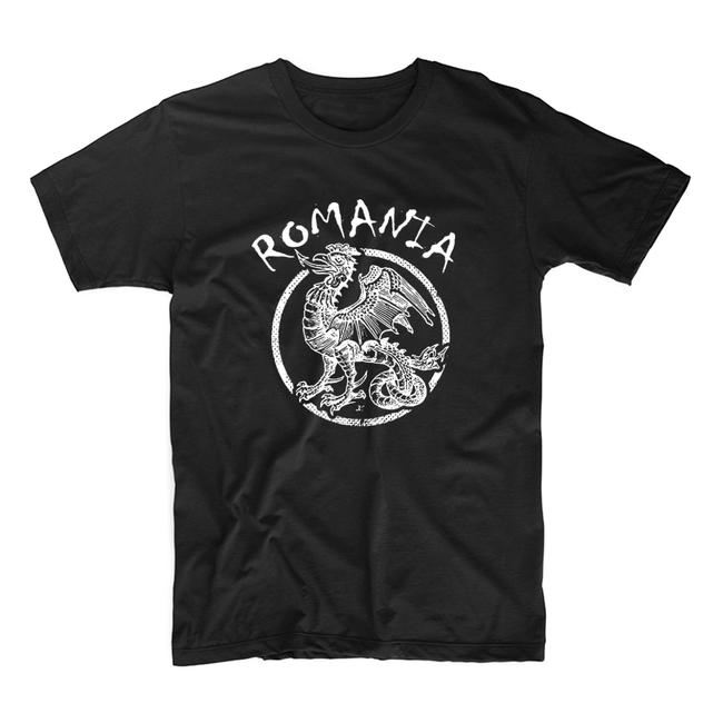 "Levně WARAGOD krátke tričko ""rumunský drak"", čierna 160g/m2 - XL"