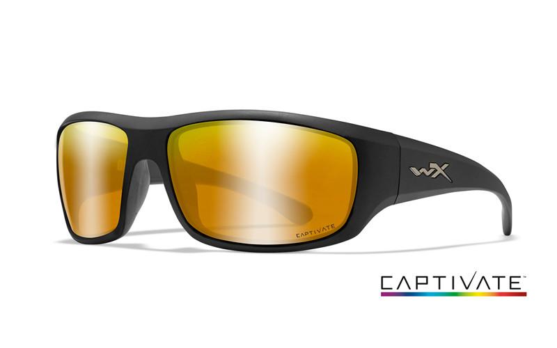 Okulary Wiley X Captivate - KINGPIN Polaraized Green