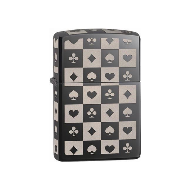 Zippo benzínový zapalovač Card Suits