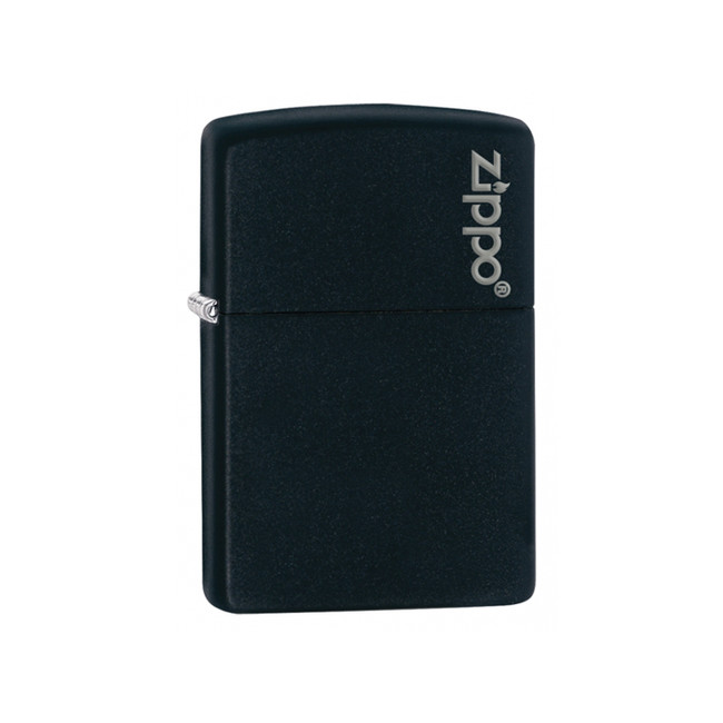 Zippo benzínový zapalovač černý matný