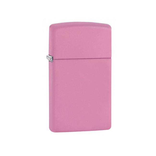Zippo benzínový zapalovač Slim® růžový